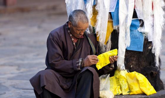 Sur le toit du monde au Tibet