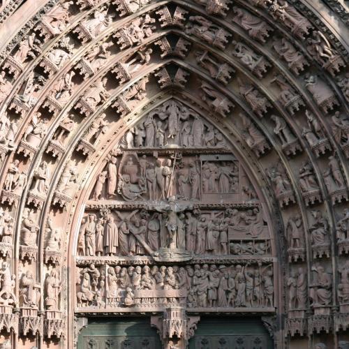 La cathédrale de Strasbourg et le carré d'or