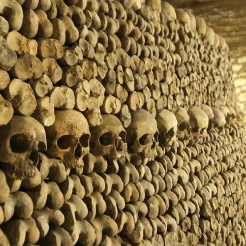 Les catacombes l'Empire de la mort à Paris
