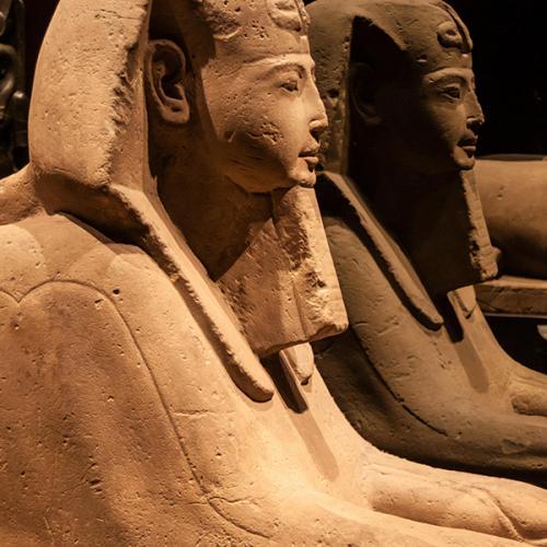 Les Pharaons au Louvre