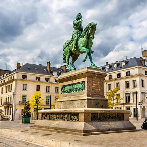 L'épopée de Jeanne d'Arc contée à Rouen
